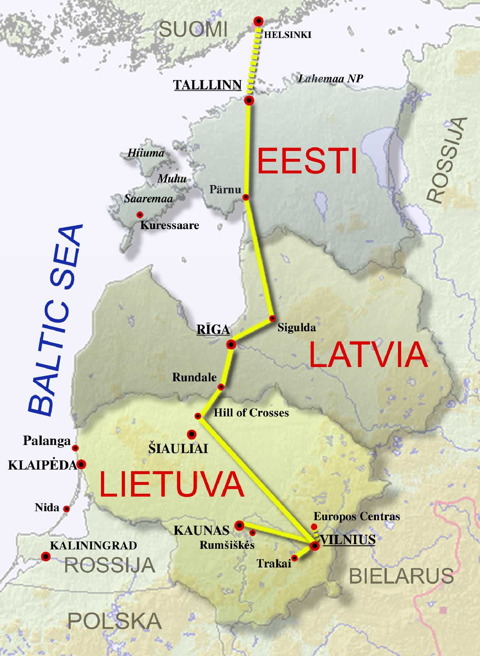 Baltic Capitals World Heritage Sites InviaBaltic